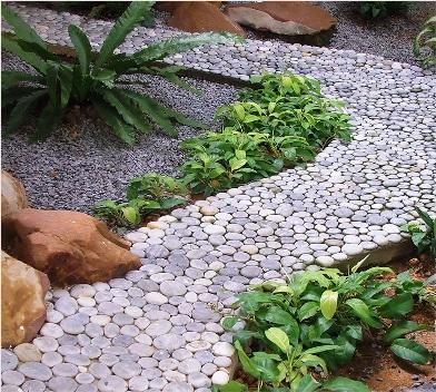 Монолитные бетонные дорожки